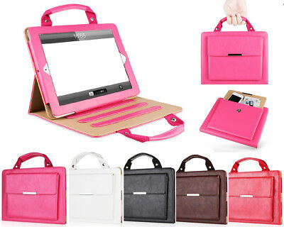 New Handbag Leather Magnetic Smart Stand Case Cover for iPad 2 3 4 Mini Air Pro
