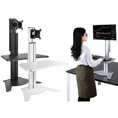 Height Adjust Sit-Stand Desk Office Standing Trade Show Computer Monitor Rack