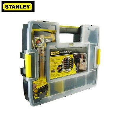 Stanley SortMaster Junior 14 Parts Organiser Tool/Screw Storage Case/Box, 197483