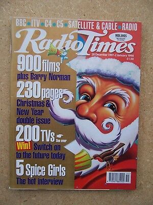 Radio Times/1997/Christmas/Spice Girls/Michael Caine/Tom Hanks/Andrew Lincoln/