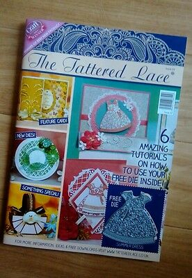 Tattered Lace Magazine No 22 With Free Summer Dress Die