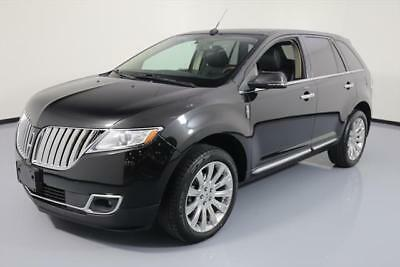 2014 Lincoln MKX  2014 LINCOLN MKX ELITE PANO ROOF NAV REAR CAM 20'S 48K #L16185 Texas Direct Auto