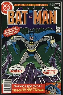 Batman #303 Perfect Nm 9.4  Non Distributed Copy With White Pages. Tight Spine