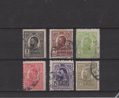 Rumania , 1908, Small Type 37 Used Selection....g.c.v.
