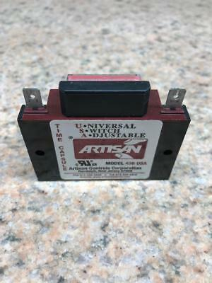 Artisan 438USA  Time Delay Solid State Relay  Panel  1 A, 19 V, 288 V
