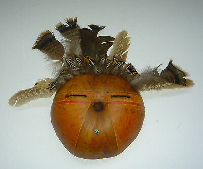 Dolores Purdy Corcoran GOURD MASK Caddo Nation Native American