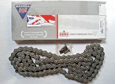 DRIVE CHAIN. 5/8 x 3/8 530 50 x 110 Links. Elite 4 BSA Triumph Norton Sportster