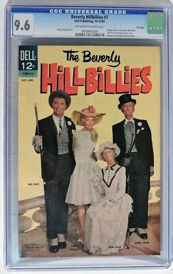 ESS260. The BEVERLY HILLBILLIES #7 Dell Publishing CGC 9.6 NM+ (1964) File Copy
