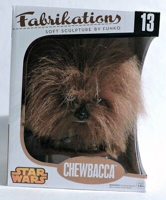 ESS208. STAR WARS: CHEWBACCA #13 Fabrikations Soft Sculpture by Funko (2014)