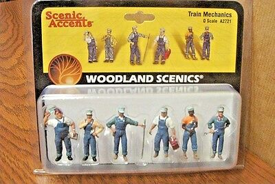 Woodland Scenics Train Mechanics O Scale Figures