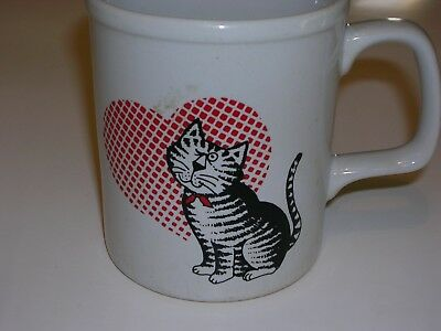 Vintage Cat Mug made in Japan