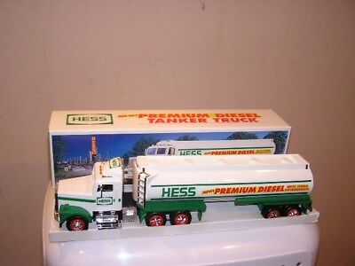 RARE never offered to public 1993 Hess Premium Diesel tanker truck