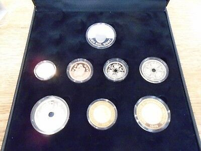 2005 Denmark Proof Coin Set in box with paperwork