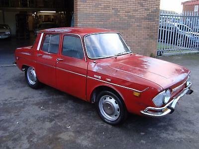 Renault 10 1.1 4Dr Lhd Us Import (1971) Red Exc Patina! Just 34K! 95% Rustfree!