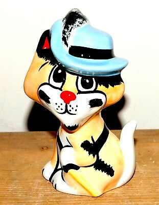 Lorna Bailey Vintage Pussketeer Purrthos The Cat In Mint Condition.