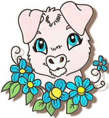 Here Is Looking At You 10 Machine Embroidery Designs Cd 4 Sizes Included
