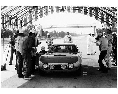 1968 ? Toyota 2000GT Race Car Factory Photo ca8805