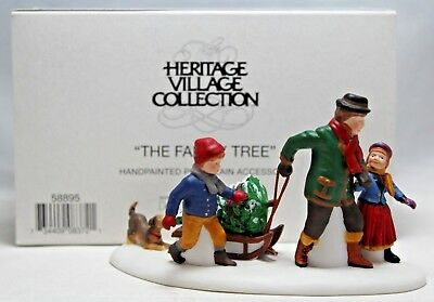 """Department 56 """"The Family Tree"""" Heritage Village Collection 58895"""