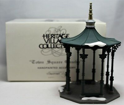 """Department 56 """"Town Square Gazebo"""" Heritage Village Collection  #55131"""