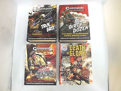 3X COMMANDO & 1X BATTLE Compilations Each Containing 12 Short Story   - C51