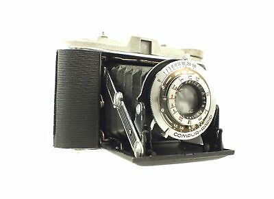 AGFA JSOLETTE Folding Bellows Camera In Carry Case - F04