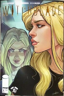 Witchblade #1 Foil Incentive Cover (2017 Series) Image Comics