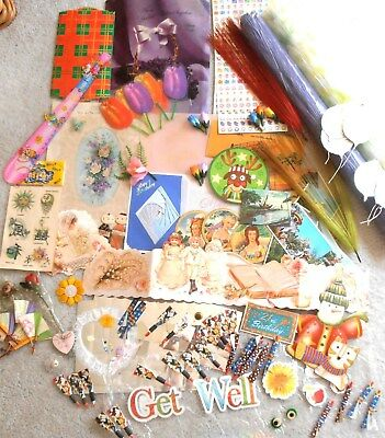 Bulk Lot Assortment Of Decoulage,scrapbook.craft-- All Good