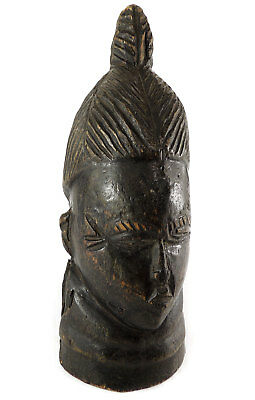 Mende Figural Post Sowei Sande Society Liberia African Art