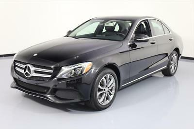 2015 Mercedes-Benz C-Class 4Matic Sedan 4-Door 2015 MERCEDES-BENZ C300 4MATIC AWD P1 NAV REAR CAM 33K #003065 Texas Direct Auto