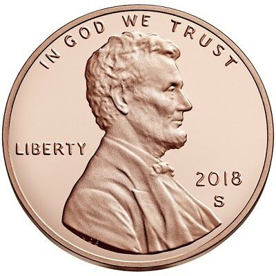 2018-S Proof Lincoln Shield Cent - This Is A Pre-Sale