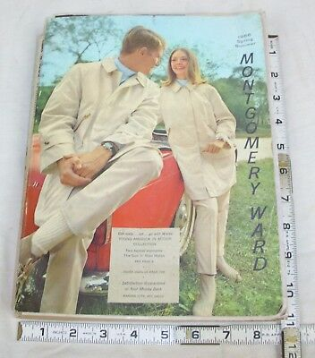 Wards 1966 Spring & Summer Catalog Men's & Women's Fashion, Auto, Home Bicycles