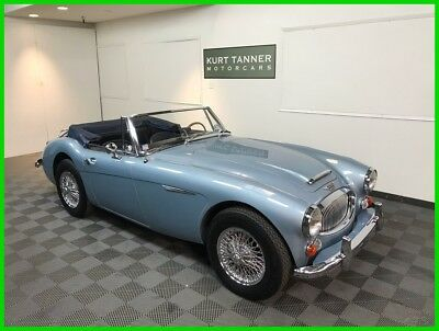 1967 Austin Healey 3000 3000 MK3 PHASE 2 BJ-8 1967 AUSTIN HEALEY 3000 MK3 PHASE 2 BJ-8. WELL-PRESERVED CA CAR. SUPERB DRIVER.