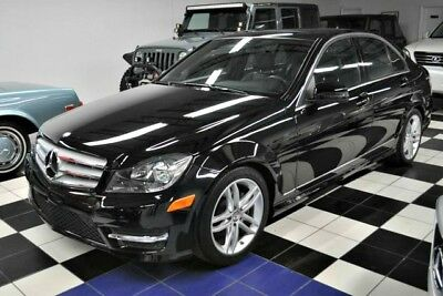 2013 Mercedes-Benz C-Class LIKE NEW - CERTIFIED CARFAX - LOW MILES 2013 Mercedes-Benz Carfax Certified! Black on Black!