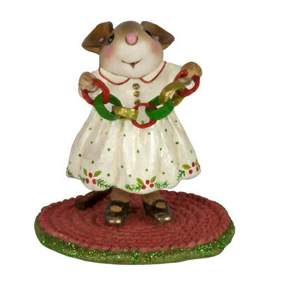 CHRISTMAS CRAFTER by Wee Forest Folk, WFF# M-631, New Christmas Mouse 2017