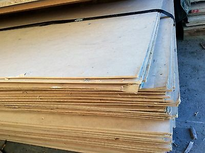 Mdf 2700 X 1200 X 3 Mm Plain Secondhand Sheet