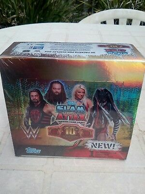 Topps Wwe Slam Attax 10Th Edition Sealed 36 Pack Box