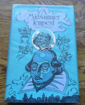 A Midsummer Tempest by Poul Anderson Doubleday 1974 First Edition 1st HBDJ