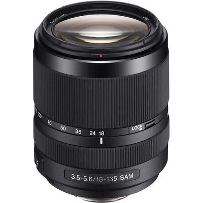 Sony DT 18-135mm f/3.5-5.6 SAM Lens for Sony A Mount