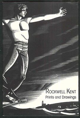 Rockwell Kent: Prints & Drawings art exhibition catalog 1987