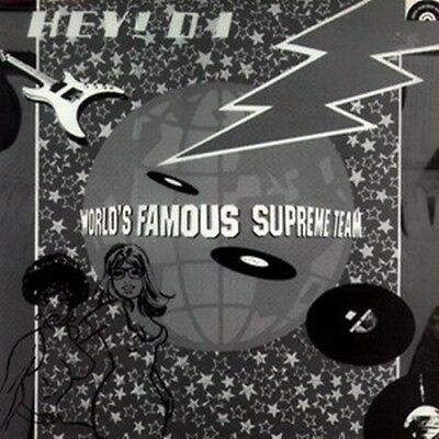 "Malcolm McLaren & World's Famous Supreme Team, Hey DJ, NEW 12"" vinyl single"