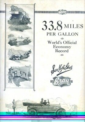 1922 Gray Automobile Brochure