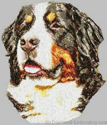 Embroidered Fleece Jacket - Bernese Mountain Dog DLE1483 Sizes S - XXL