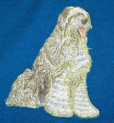 Embroidered Fleece Jacket - Old English Sheepdog DTL009 Sizes S - XXL