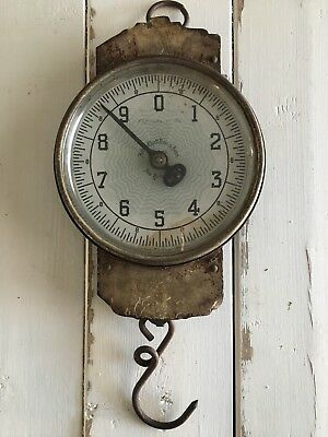 Vintage John Chatillon & Sons 30 Pound General Store Hanging Scale