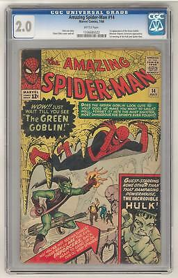 Amazing Spider-Man #14 CGC 2.0 1st Appearance of Green Goblin