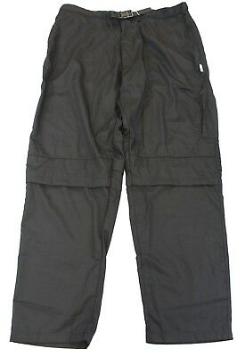 KNG Men's Vented Active Chef Pants CB4 Black Size Small NWT