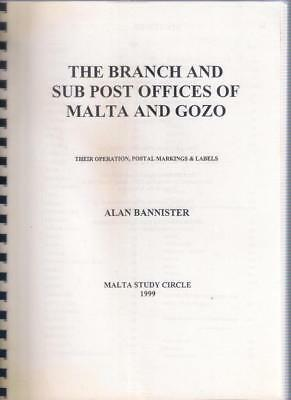 Book MALTA THE BRANCH and SUB OFFICES OF MALTA & GOZO - Alan Bannister