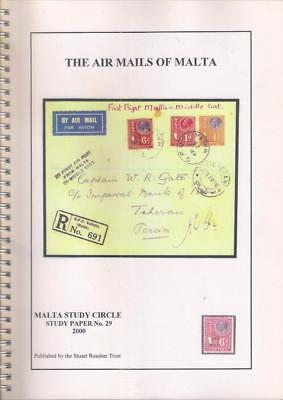 Book THE AIR MAILS OF MALTA -  D. Ward