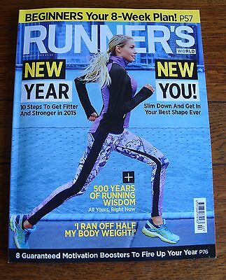 Runner's World Magazine - February 2015 - Excellent Condition.