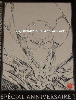 SPAWN 200 McFARLANE Exclusive SKETCH BW VARIANT 1:100 French Euro Con Incentive
